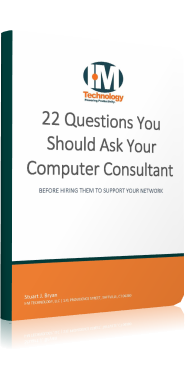 Cover for e-book 22 Questions You Should Ask Your Computer Consultant