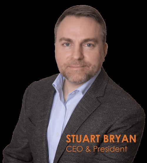 I-M Technology's CEO and president Stuart Bryan