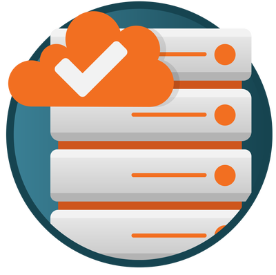Graphic icon for server management