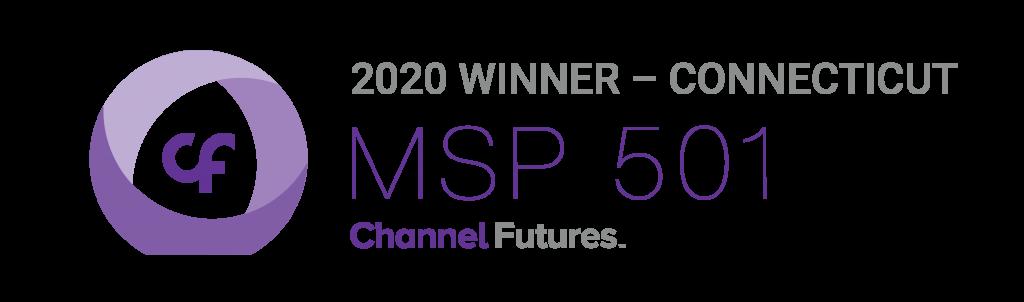 Channel Futures MSP 501 2020 Winner