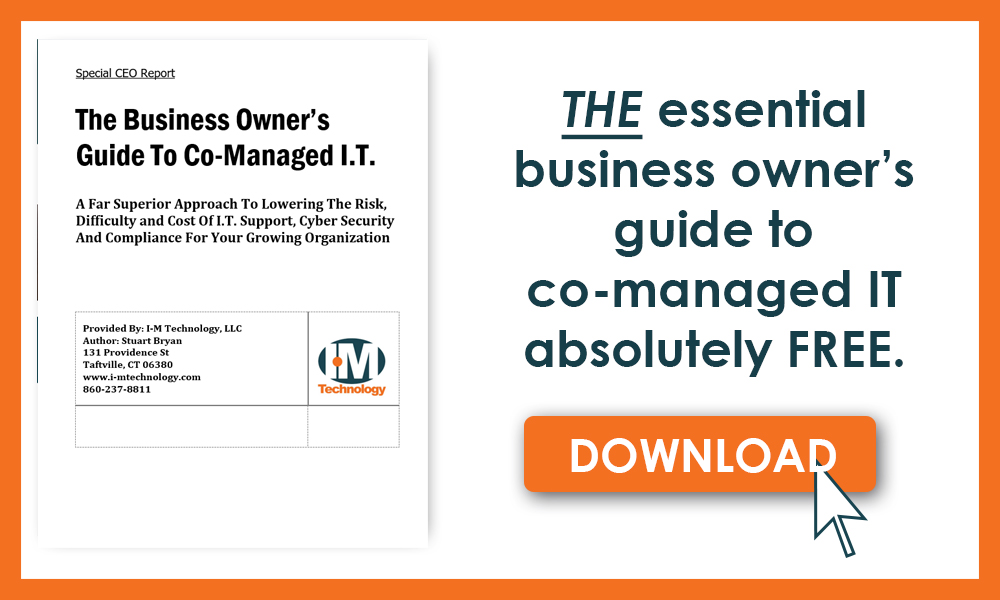 Call to action for the business owner's guide to co-managed IT